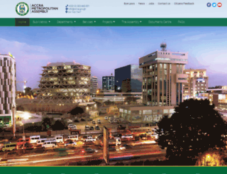 ama.gov.gh screenshot