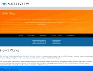 ama.multiview.com screenshot