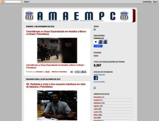 amaempc.blogspot.com.br screenshot