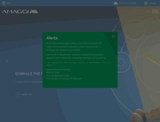 amaggi.com.br screenshot