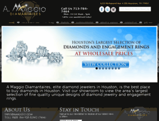 amaggio.com screenshot