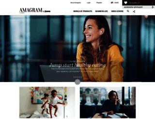 amagram.amway.co.uk screenshot