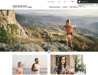 amagram.amway.com.tr screenshot