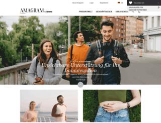 amagram.amway.de screenshot