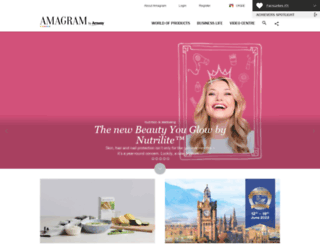 amagram.amway.ru screenshot