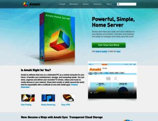 amahi.com screenshot