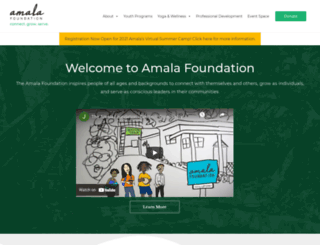 amalafoundation.org screenshot