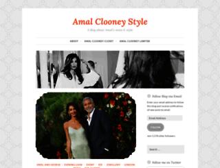 amalalamuddinstyle.wordpress.com screenshot