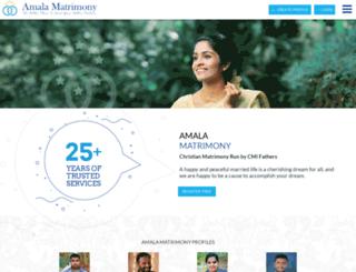 amalamatrimony.com screenshot