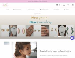 amaliajewelry.com screenshot