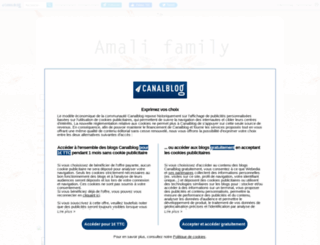 amalifamily.canalblog.com screenshot