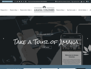 amanacolonies.com screenshot