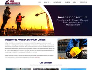 amanagroup.com screenshot