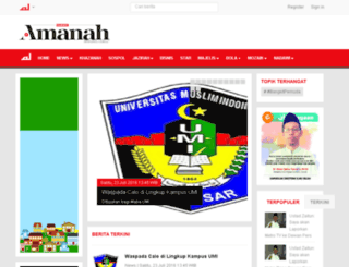 amanah.alharamnews.com screenshot