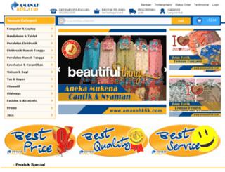 amanahklik.com screenshot