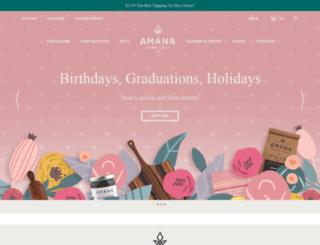 amanashops.com screenshot