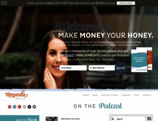 amandaabella.com screenshot