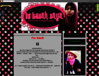 amandaaina.blogspot.com screenshot