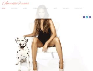 amandafrancesmodel.com screenshot