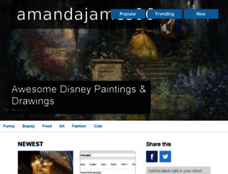 amandajames06.inspireworthy.com screenshot