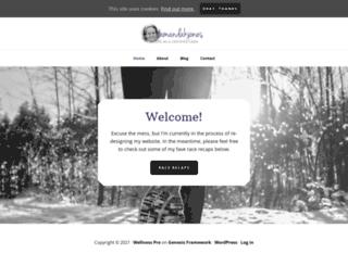 amandakjones.com screenshot