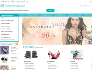 amandatrade.com screenshot