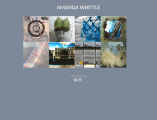 amandawhittle.co.uk screenshot