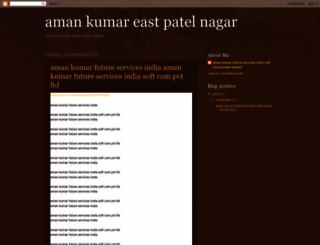 amankumareastpatelnagar.blogspot.in screenshot