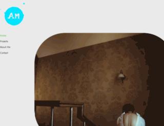 amanmakkar.in screenshot
