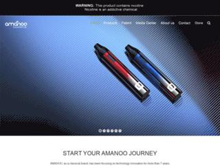 amanoocigarette.com screenshot