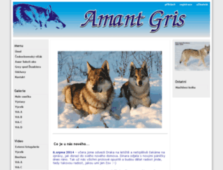 amantgris.cz screenshot