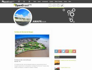 amapatour.openbrasil.org screenshot