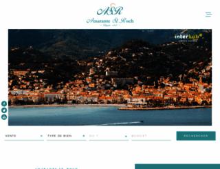 amarantestroch.com screenshot