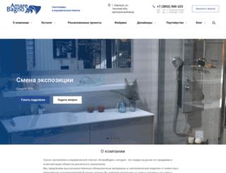 amarebagno.ru screenshot