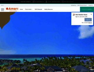 amari.com screenshot