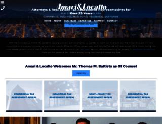 amariandlocallo.com screenshot