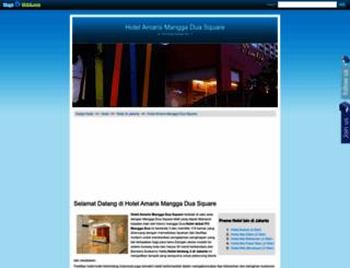 amarismanggaduasquare.hargahotel.com screenshot
