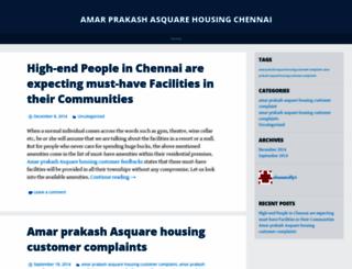 amarprakashasquarehousing.wordpress.com screenshot