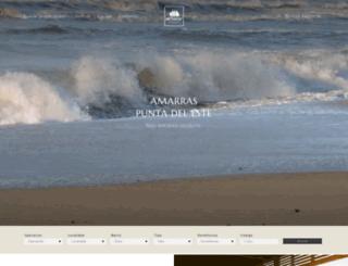 amarras.com.uy screenshot