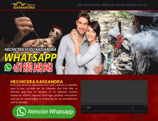 amarresconvudu.com screenshot