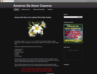 amarresdeamorcaseros.blogspot.com screenshot