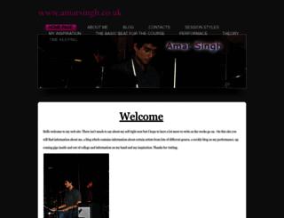 amarsingh.weebly.com screenshot
