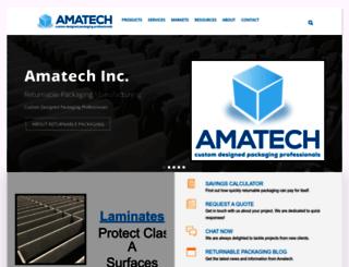 amatechinc.com screenshot