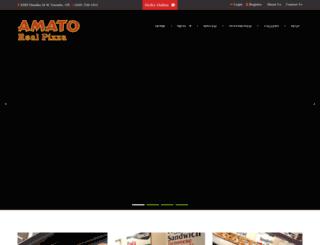 amatorealpizza.com screenshot