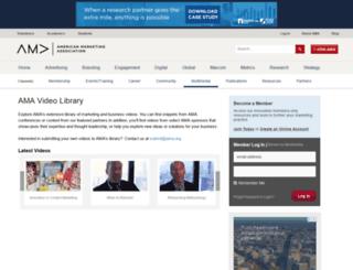 amatv.marketingpower.com screenshot