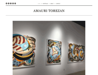 amauritorezanart.com screenshot
