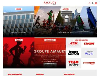 amaury.com screenshot
