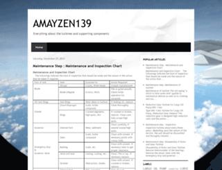 amayzen139.blogspot.com screenshot