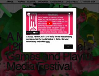 amaze-berlin.de screenshot