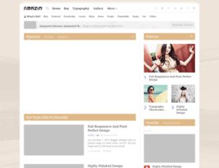 amazin-template-1.blogspot.co.id screenshot